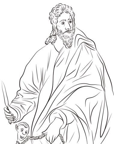 stöpsel waschbecken zum drücken disegno di san bartolomeo apostolo da colorare disegni da colorare e stare gratis