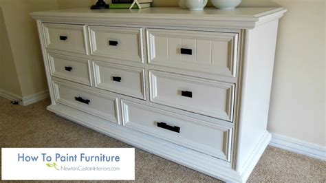 Spray Paint Tips For Flawless Furniture Updates
