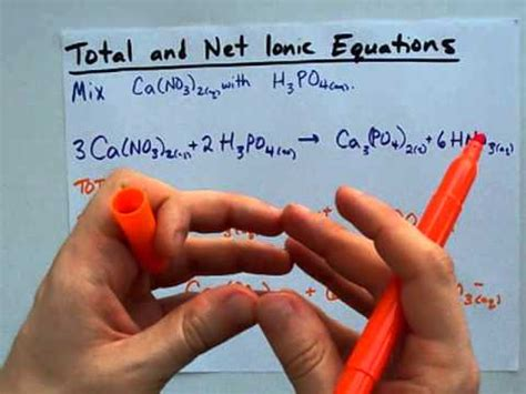 How To Write Total And Net Ionic Equations (easy)  Youtube