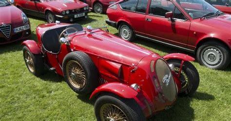200 Alfa Romeos Made The Beaulieu Parkland Red