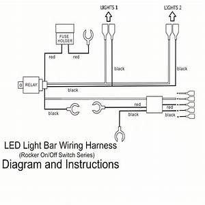 5 Pin Relay Wiring Diagram Light Bar
