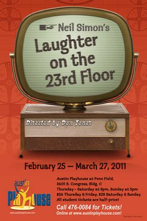 Laughter On The 23rd Floor by Laughter On The 23rd Floor Ctx Live Theatre