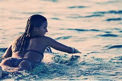 Bikini Swimwear Water Biarritz Desktop Wallpapers Destinacije