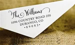 custom rubber stamp custom family address stamp self With buy return address stamp