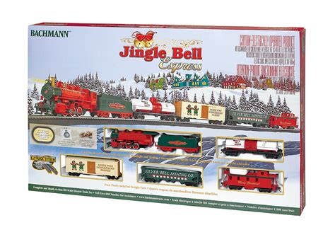christmas thomas trains model train starter sets bachmann 00724 jingle bell