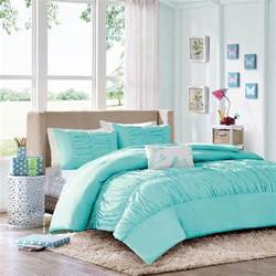 Teen Girls Bedding by Comforter Sets For Teen Girls Tiffany Blue Aqua Ruched