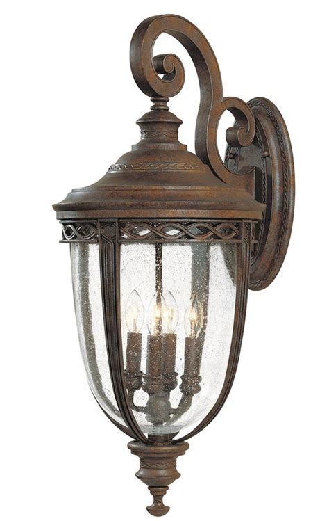feiss english bridle 4 light extra large outdoor wall