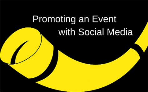 quick tips  promoting  event  social media