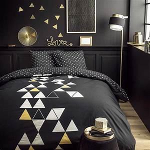 Parure De Lit Noir : today trius parure de lit noir brandalley ~ Melissatoandfro.com Idées de Décoration
