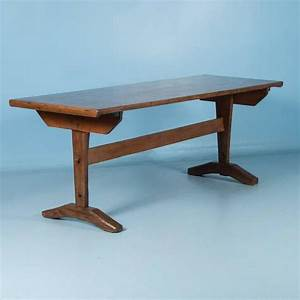 Antique Early American Country Harvest Table 19th Century