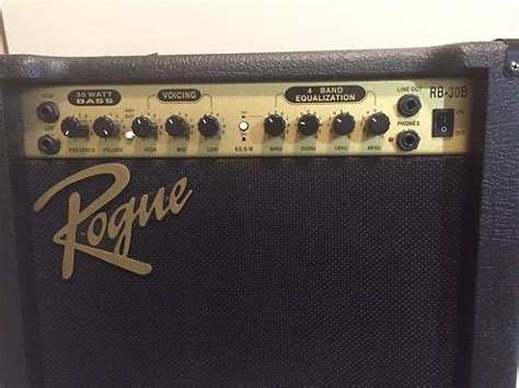 rogue 30b 30w rb combo bass audio amp reverb