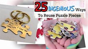 DIY Valentines Crafts. Easy Puzzle Pieces Craft Ideas ...