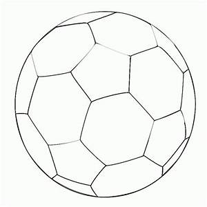 Soccer Ball Colouring Template - ClipArt Best