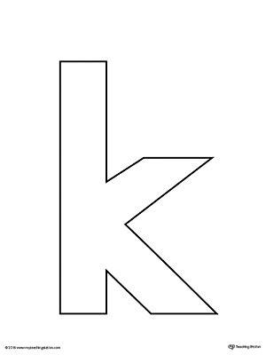lowercase letter  template printable myteachingstationcom