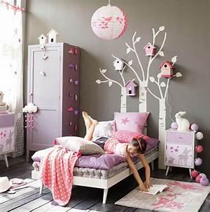 une chambre de petite fille tendance With deco chambre petite fille