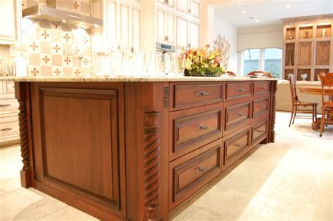 wood kitchen island legs custom cut legs to fit your kitchen island osborne wood