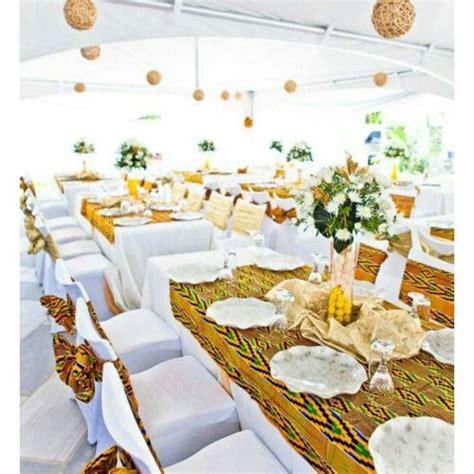 wedecoration de mariage  lafricaine tissu frequemment