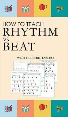 how to teach beat vs rhythm part 1 free printables 817 | 5df7fff441000bce03eb428e61a794d4