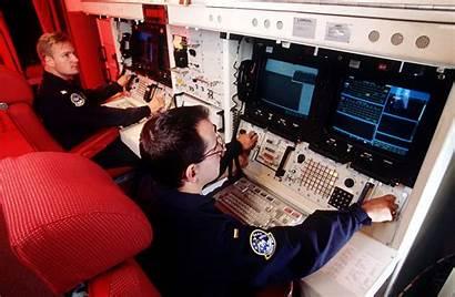 React Minuteman Combat Missile Console Iii Crew