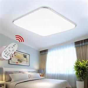Led Deckenleuchte Dimmbar : led deckenleuchte 64w wohnzimmer deckenlampe deckenbeleuchtung dimmbar lampe ebay ~ Markanthonyermac.com Haus und Dekorationen