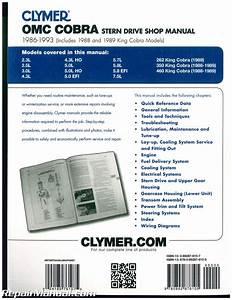 Clymer Omc Cobra 1986