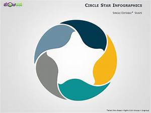 5 Stages Circular Powerpoint Diagram