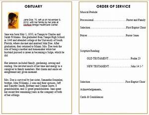 73 best printable funeral program templates images on With funeral handouts template