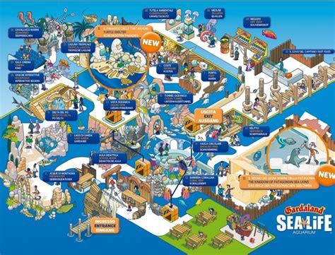 gardaland gardaland sea life karte
