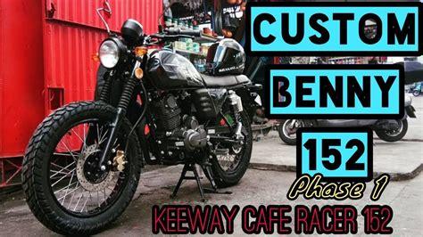 Benelli Motobi 152 Image by Customizing Benny152 Keeway Cafe Racer 152 Benelli
