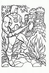 Coloring Pages He Angel Guardian Universe Sheets Castle Masters Grayskull Ra She Colouring Printable 80s Cat Books Motu Cartoons Clipart sketch template