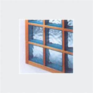 Brique De Verre Couleur : cloison en briques de verre avec joints bois syst me wallkit saverbat ~ Melissatoandfro.com Idées de Décoration