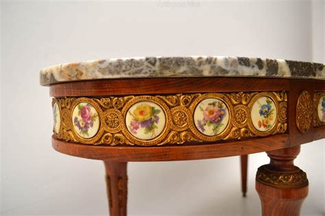antique marble top coffee table antique french marble top coffee table antiques atlas