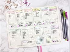 Over 20 Easy Bullet Journal Weekly Spread Ideas!