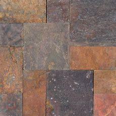 Msi Peacock Pattern Gauged Slate Floor And Wall Tile (5