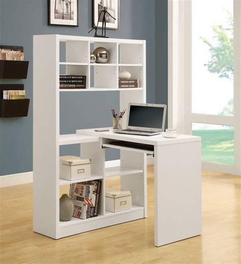 corner desk with bookshelf 12 space saving designs using small corner desks