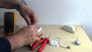 How To Remove A 12v Halogen Bulb And Transformer And