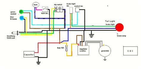 Best Images About Motorcycle Wiring Diagram
