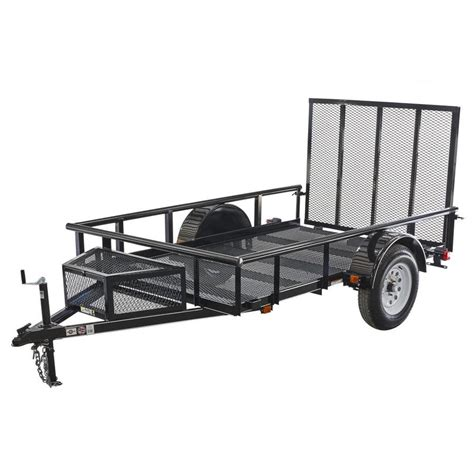 shop carry on trailer 5 5 ft x 9 ft wire mesh utility