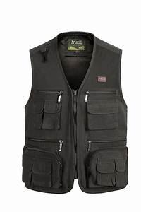 New Male Casual Vests Men Outdoor Working Vest Mens Multi Pocket Photographers Sleeveless Jacket