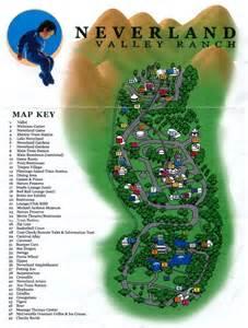 Michael Jackson Neverland Ranch Map
