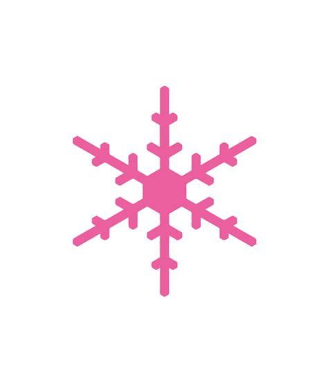Free download for personal use only! Snowflake SVG File - Chicfetti