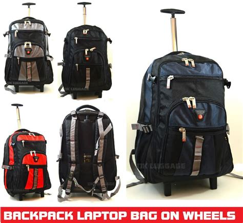 cabin bags on wheels wheeled laptop backpack on wheels luggage trolley