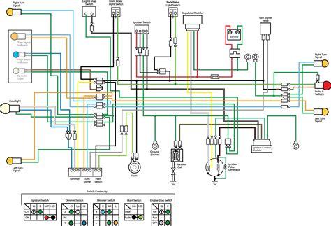 motorcycle brake light switch wiring diagram my wiring