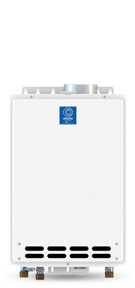 Tankless Water Heater Noncondensing Indoor 199,000 Btu