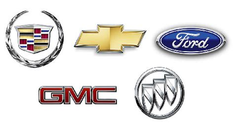 List And Logos Of Us Cars