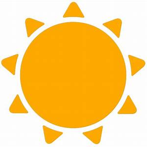 simple weather icons sunny   SVG(VECTOR):Public Domain ...