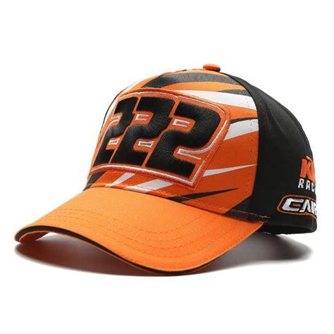 for ktm motocross gorras moto gp motorcycle auto racing team hat cap orange bikes black men