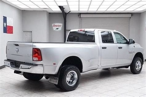 texas truck stop 2015 dodge ram 3500 drw cummins diesel 4x4 dually tradesm for sale in
