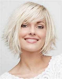 Coupe De Cheveux Femme Visage Rond Cheveux Epais : coupe cheveux mi long epais ~ Nature-et-papiers.com Idées de Décoration