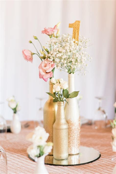The Smarter Way To Wed Wedding Centerpieces Gold